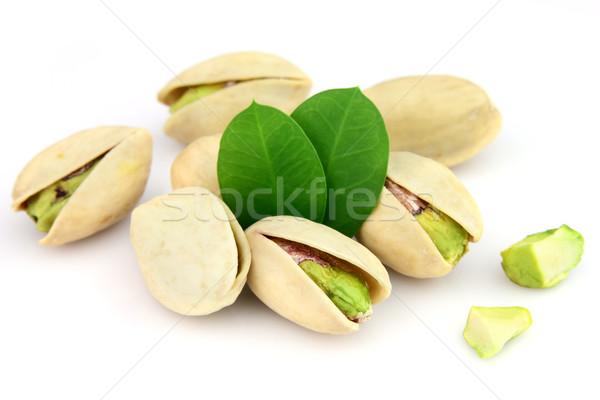 Bianco alimentare gruppo foglie Foto d'archivio © Dionisvera