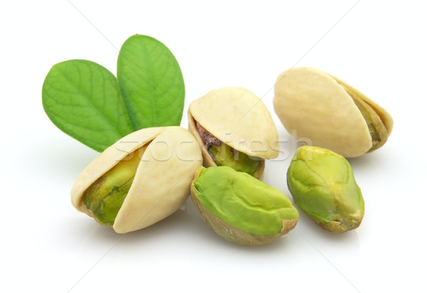 Fresh pistachio Stock photo © Dionisvera