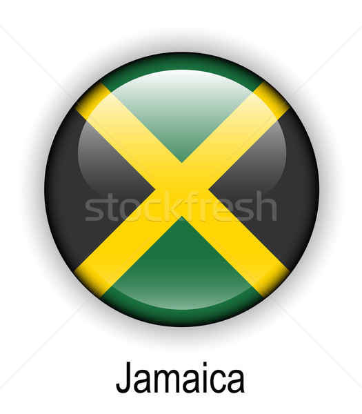 jamaica state flag Stock photo © dip