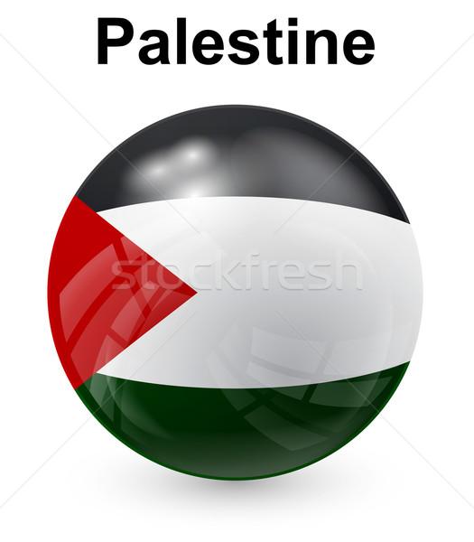 Officieel vlag ontwerp wereld teken groene Stockfoto © dip