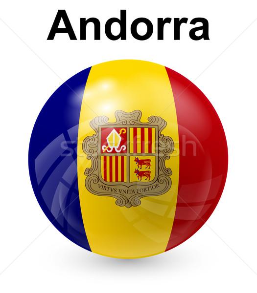 Andorra officieel vlag ontwerp wereld teken Stockfoto © dip
