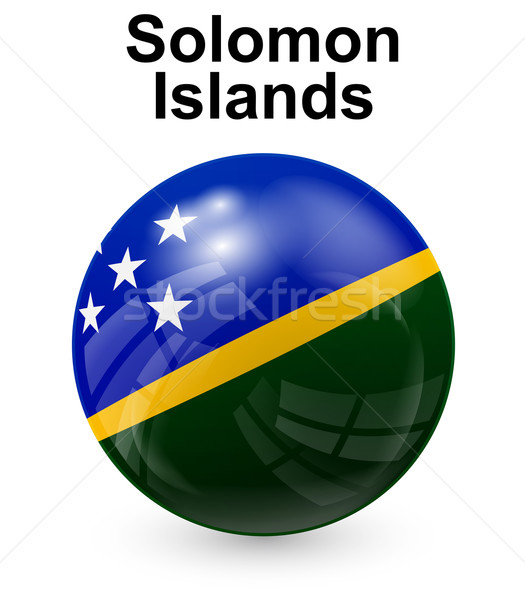 solomon islands official state flag Stock photo © dip