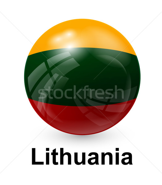 lithuania state flag Stock photo © dip