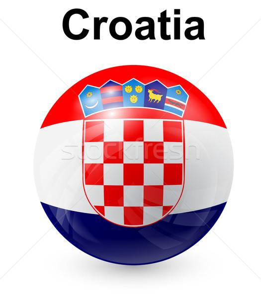 クロアチア 公式 フラグ デザイン 世界 にログイン ストックフォト © dip