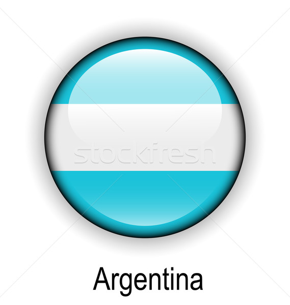 argentina ball flag Stock photo © dip