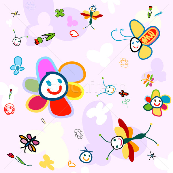 background for kids Stock photo © dip