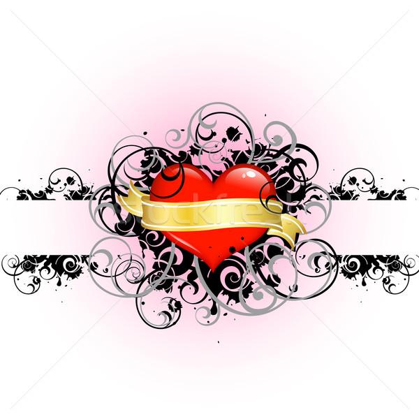 grunge valentine Stock photo © dip