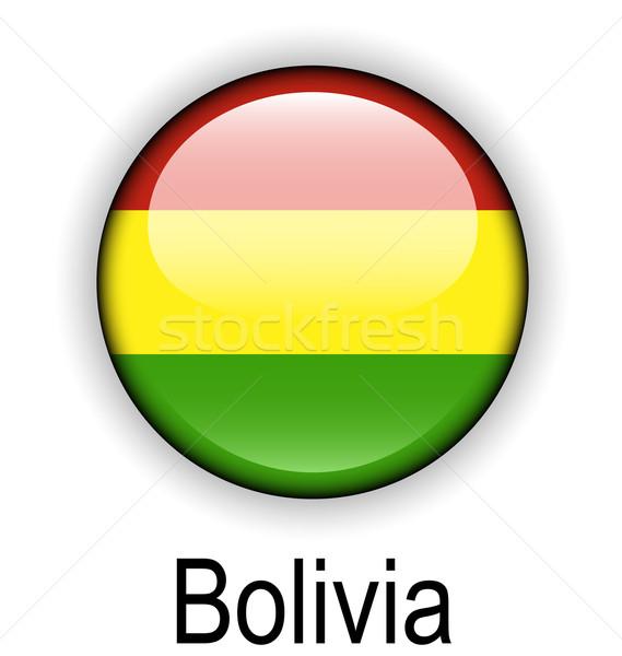 ボリビア ボール フラグ 公式 ボタン デザイン ストックフォト © dip
