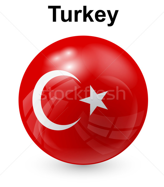 turkey official state flag Stock photo © dip