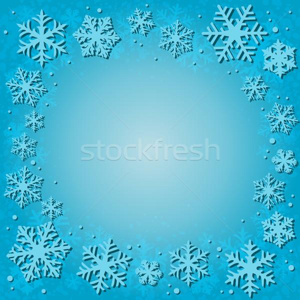 snow background Stock photo © dip