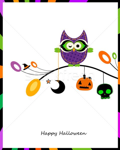 halloween card Stock photo © dip