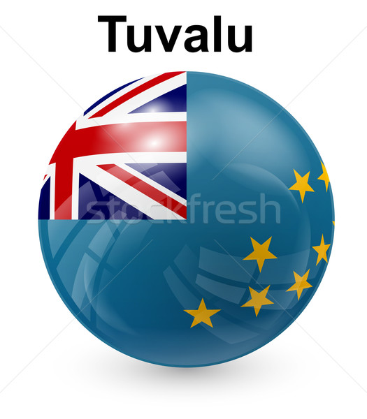 tuvalu official state flag Stock photo © dip