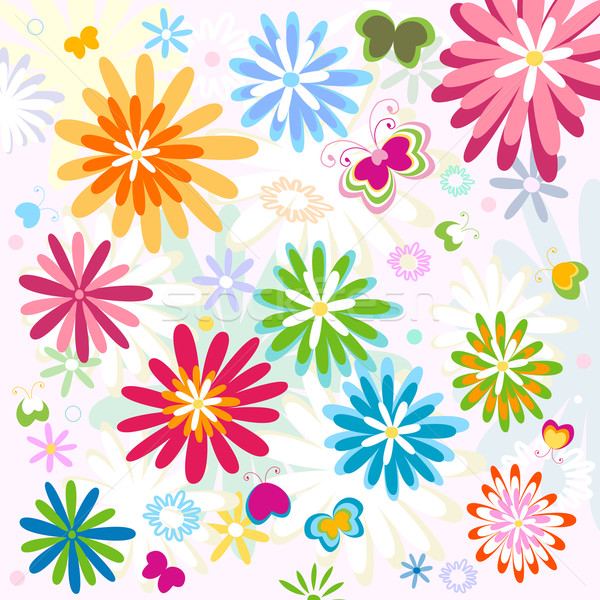 flower pattern Stock photo © dip