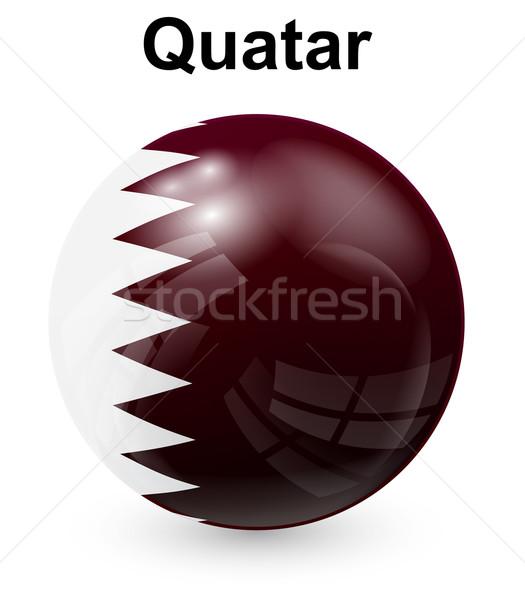 официальный флаг дизайна Мир знак белый Сток-фото © dip
