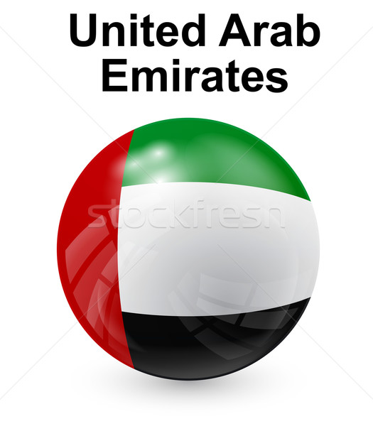 united arab emirates official state flag Stock photo © dip