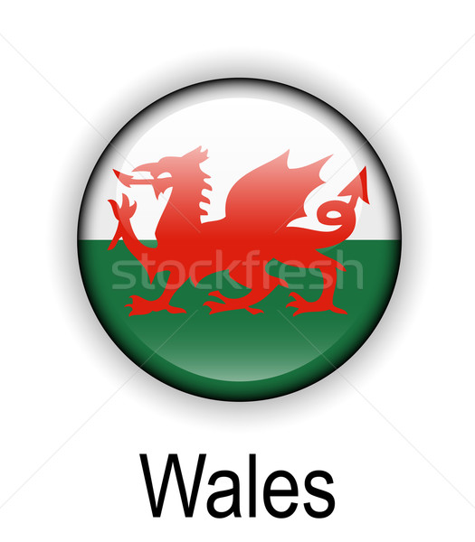 wales official state flag Stock photo © dip