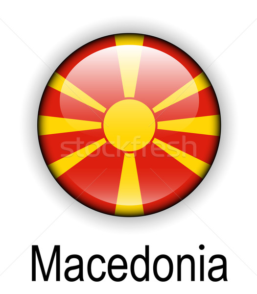 macedonia official state flag Stock photo © dip