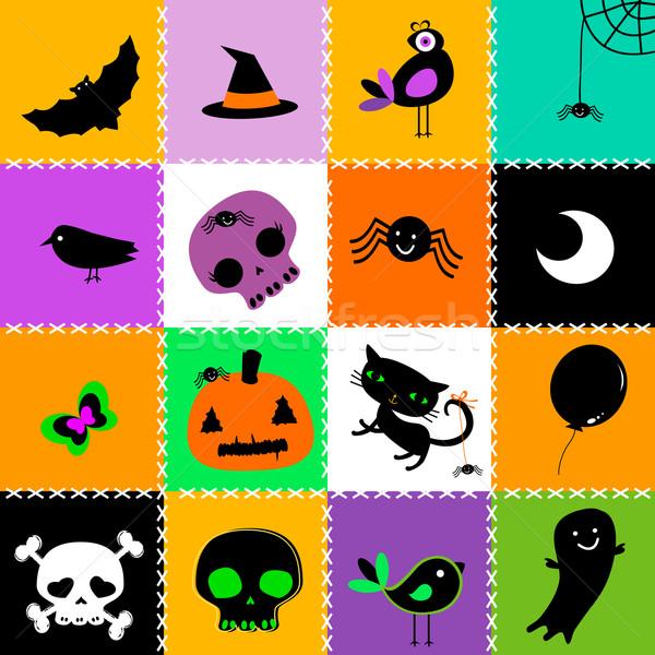 Halloween background Stock photo © dip