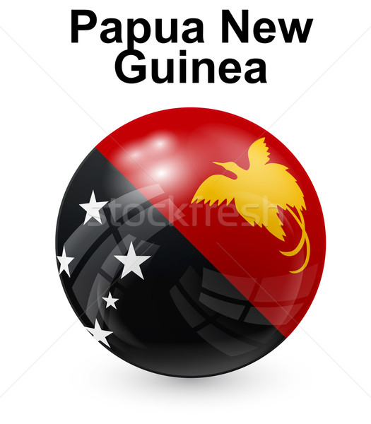 Сток-фото: Папуа-Новая · Гвинея · официальный · флаг · дизайна · Мир · знак