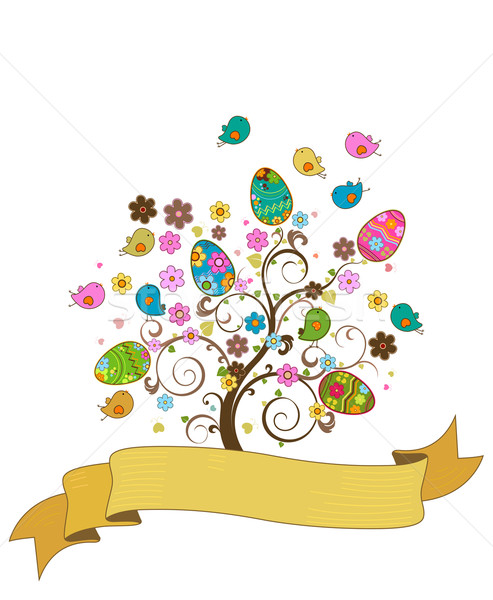 easter tree Stock photo © dip