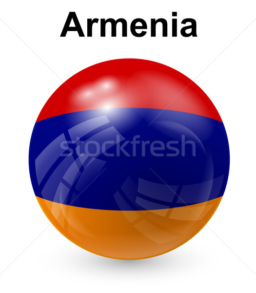 Armenien offiziellen Flagge Design Welt Zeichen Stock foto © dip