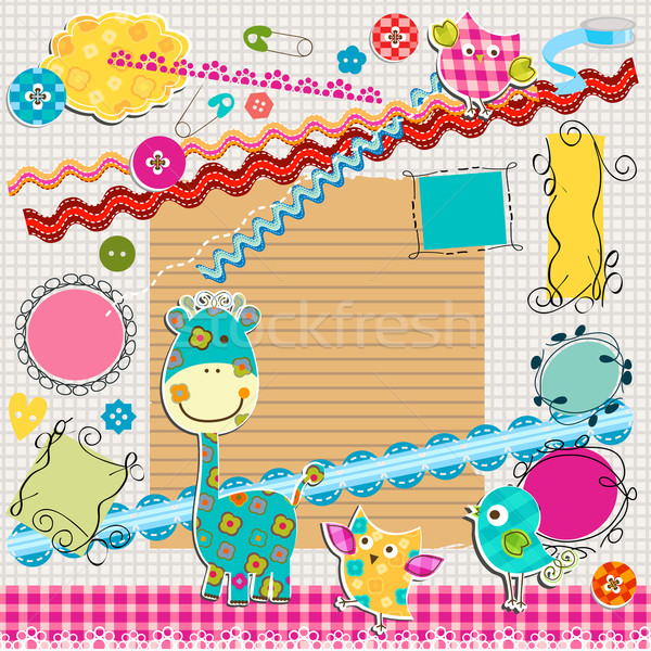 scrapbook kit Stock photo © dip