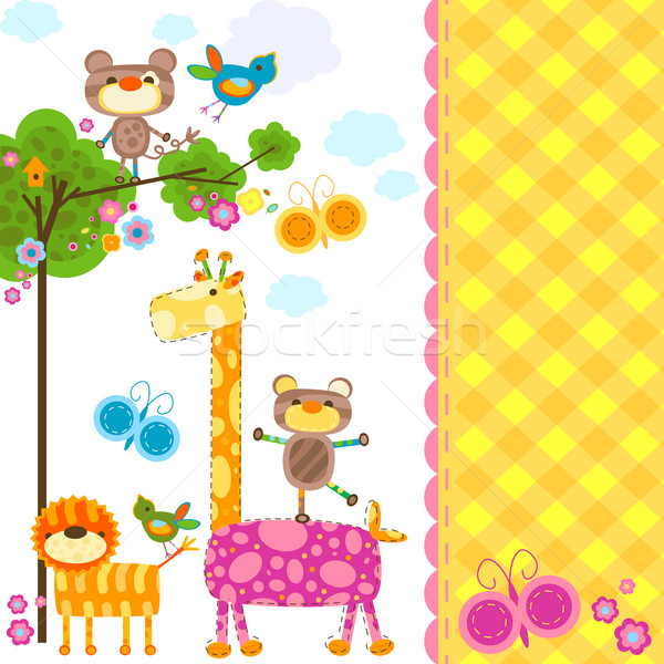animals background Stock photo © dip