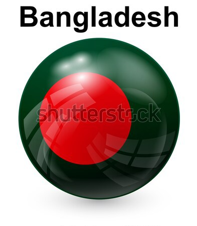 bangladesh official state flag Stock photo © dip
