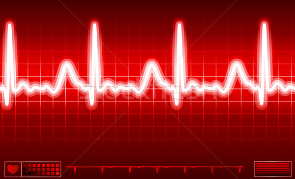 heart monitor screen Stock photo © dip