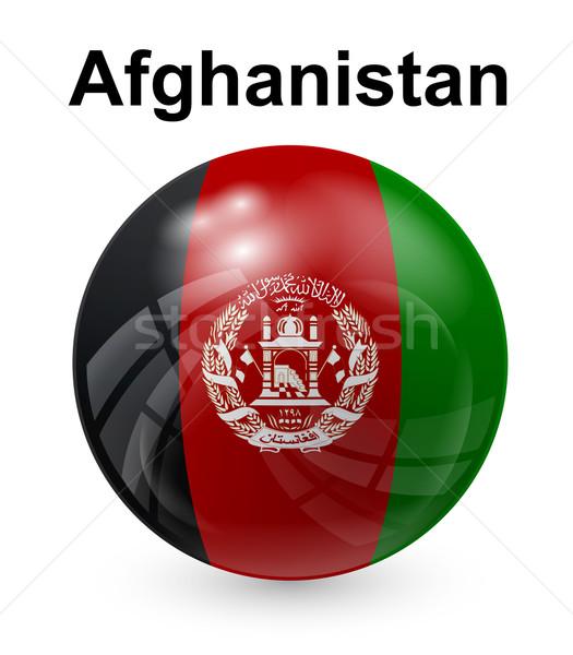 Afghanistan officieel vlag ontwerp wereld teken Stockfoto © dip