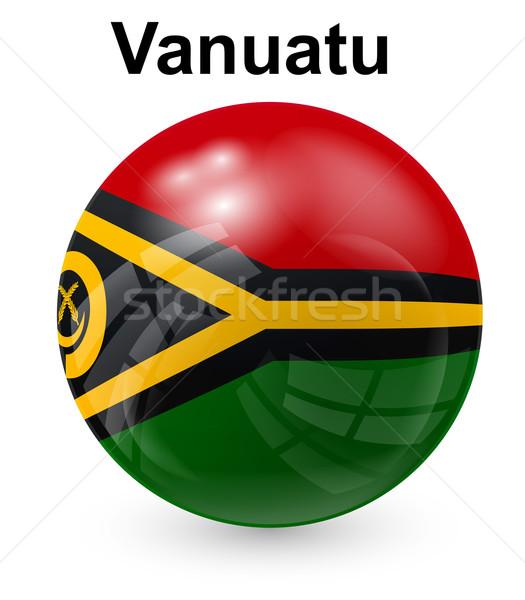 Vanuatu officieel vlag ontwerp wereld teken Stockfoto © dip