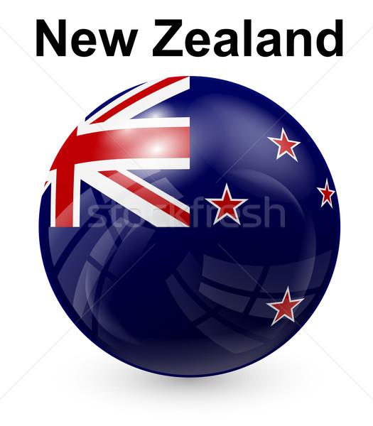 New Zealand offiziellen Flagge Design Welt Zeichen Stock foto © dip