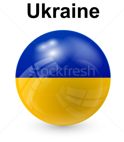 ukraine official state flag Stock photo © dip