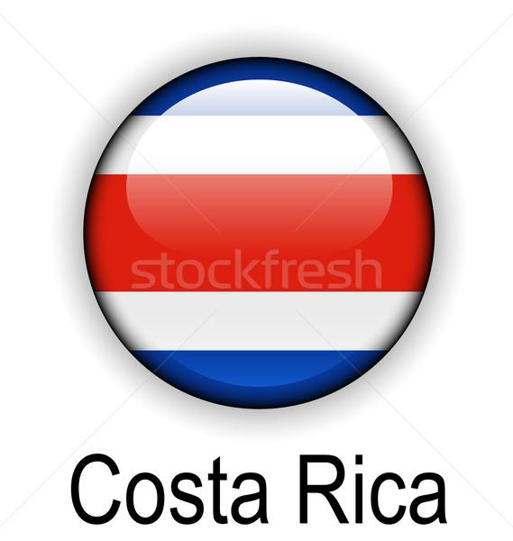 costa rica ball flag Stock photo © dip