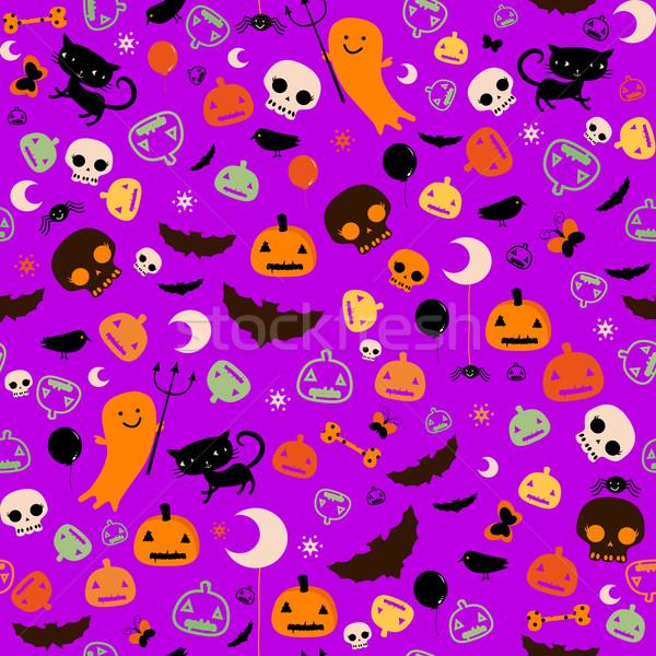 Halloween fête enfants papillon yeux Photo stock © dip