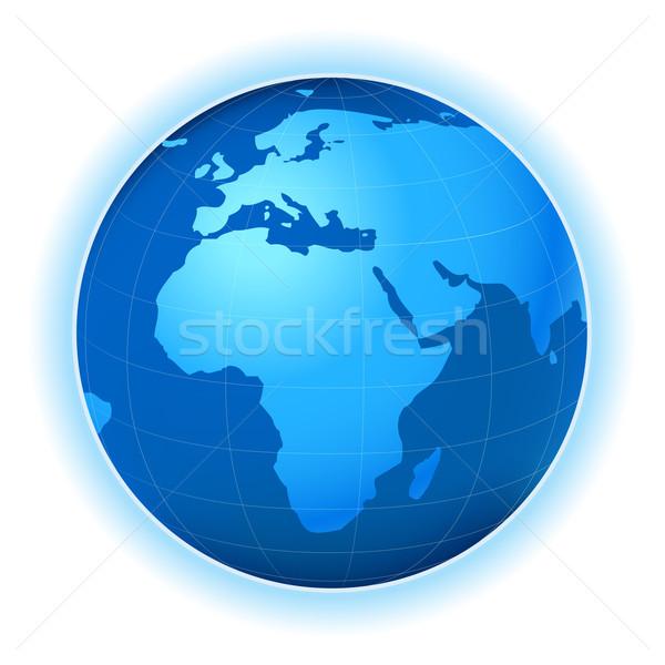 Gezegen harita dünya gezegeni örnek dünya dünya Stok fotoğraf © dip