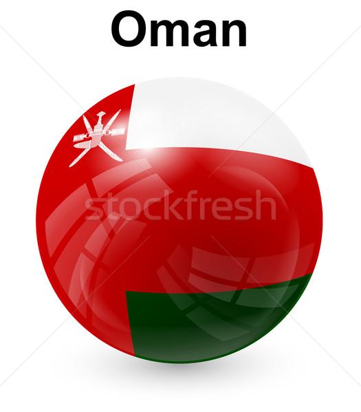 Oman officieel vlag ontwerp wereld teken Stockfoto © dip