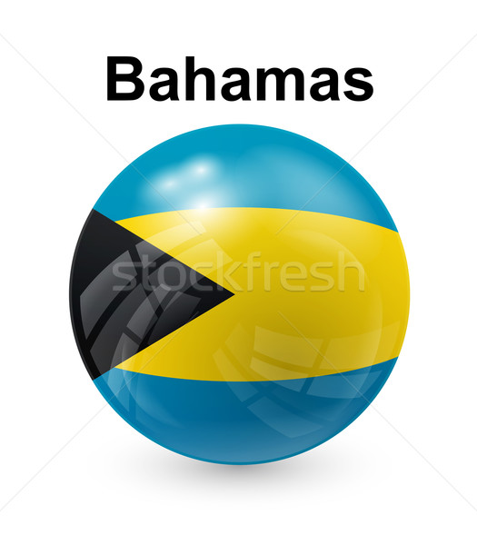 bahamas state flag Stock photo © dip