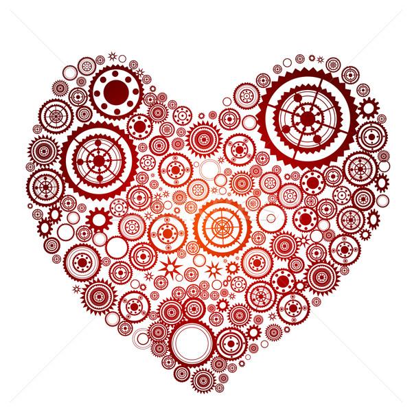 heart shape Stock photo © dip