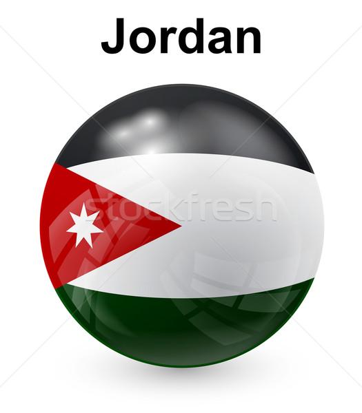 ヨルダン 公式 フラグ デザイン 世界 にログイン ストックフォト © dip