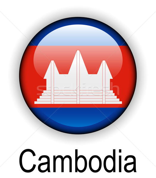 cambodia official state flag Stock photo © dip
