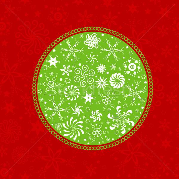 Winter patroon naadloos sneeuwvlokken textuur sneeuw Stockfoto © dip