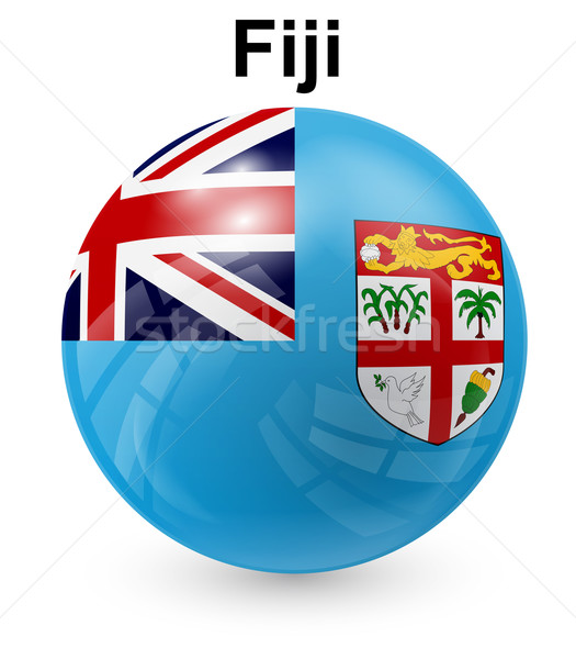 fiji official state flag Stock photo © dip