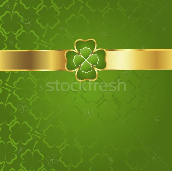clover pattern Stock photo © dip