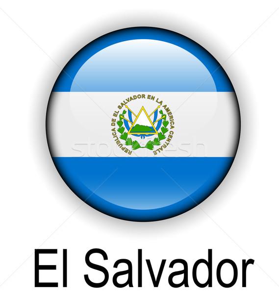 エルサルバドル ボール フラグ 公式 ボタン デザイン ストックフォト © dip