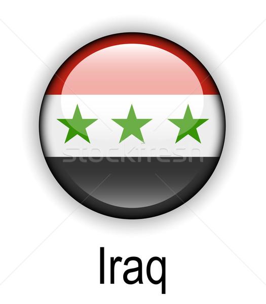 Irak officieel vlag ontwerp wereld teken Stockfoto © dip