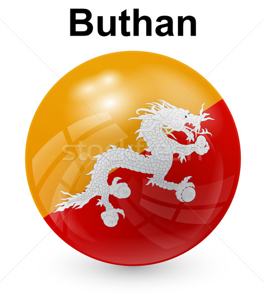 buthan official state flag Stock photo © dip