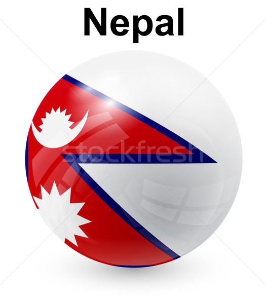 nepal official state flag Stock photo © dip
