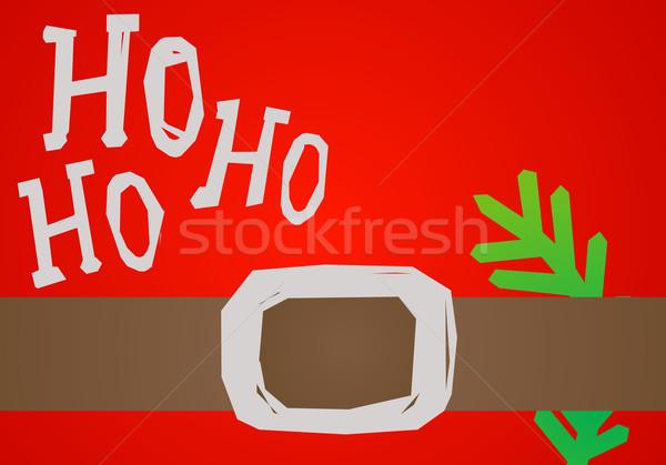 Foto stock: Cinto · verde · ramo · abstrato