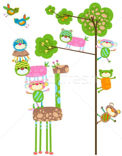 cute animals design Stock photo © dip